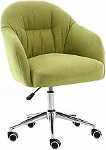 JIEER-C Home Leisure Swivel Chair, Upholstered
