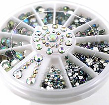 jieGorge★ 1Box Nail Sticker Diamonds Dazzling
