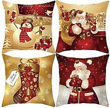 jieGorge Christmas Xmas Cushion Throw Cover