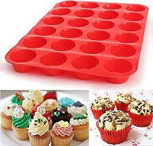 jieGorge Easter, Cake Mould24 Cavity Mini Muffin