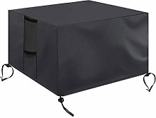 jieGorge Gas Fire Cover Square - 28x28x25 inch