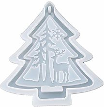 jieGorge Merry Christmas Silicone Jewelry Casting