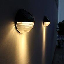 jieGorge Solar Power Light Sensor 6 LED Wall Light