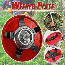 jieGorge Weeder Plate Blades Lawn Mower Grass