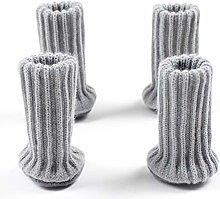 JIFNCR 4PCS Chair Socks High Elastic Chair Leg