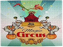 Jigsaw Picture Puzzles 500 Pieces,Magic Traveling