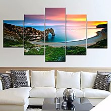jijimidianzi 5pcs HD Printing Canvas Painting
