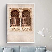 jijimidianzi Moroccan Door Wall Art Arab