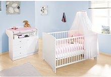 Jil 2 Piece Nursery Furniture Set Pinolino