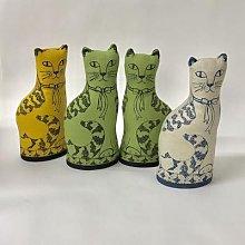 jill pargeter - Linen Lavender Filled Cats -