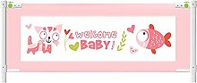 JIN Baby Bed Safety Rails - Safety Bedrail with
