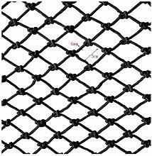 JIN Durable Safety Net Decoration Net Black Rope