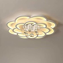 JIN Led Ceiling Light Modern Elegant Crystal