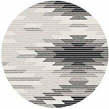JIN Non-Slip Mat Nordic Round Carpet Modern Basket