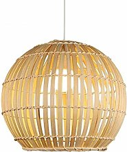 JIN Pendant Light DIY Bamboo Rattan Wicker Lantern