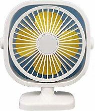 JIN Portable Fan Desk Mini Small Fan Colorful