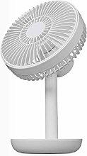 JIN Portable Fan USB Rechargeable Fan Desk Fan