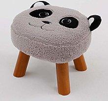 JIN Practical Stool Children Adult Cartoon Panda