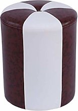 JIN Practical Stool Footstool Leather Stool