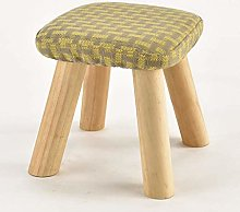 JIN Practical Stool Footstool Small Square Stool