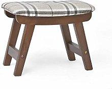 JIN Practical Stool Ottoman Footstool, Creative