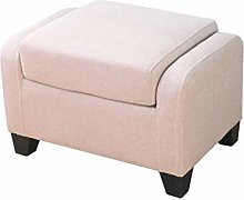 JIN Practical Stool Ottoman Footstool, Home Simple