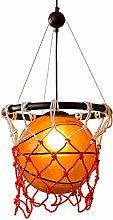 JIN Useful Chandelier Basketball Glass Chandelier