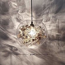 JIN Useful Chandelier Glass Chandelier Living Room