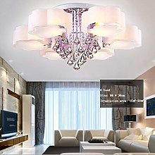 JIN Useful Chandelier Led Crystal Ceiling Light