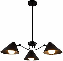 JIN Useful Chandelier Retro Industrial Wind