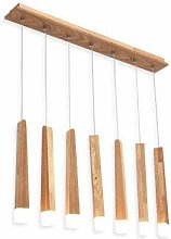 JIN Useful Chandelier Wooden Stick Pendant