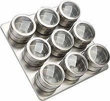 JINAN 12pcs/9pcs Set Magnetic Dustproof Visible