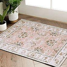 JINCHAN Doormat Pink Kitchen Area Rug Vintage
