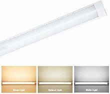 jincome 1FT LED Linear Batten Light, 3 Color Mode