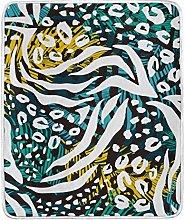 JinDoDo Blanket Abstract Geometric Animal Skin