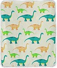 JinDoDo Blanket Cartoon Animal Dinosaur Pattern