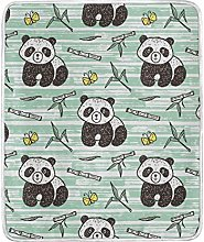 JinDoDo Blanket Cute Animal Panda Bamboo Throw