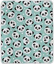 JinDoDo Blanket Cute Animal Panda Throw Blanket