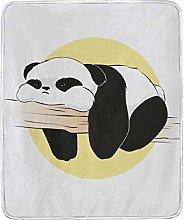 JinDoDo Blanket Lovely Animal Panda Throw Blanket