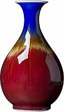 Jingdezhen ceramic large Chinese red glazed