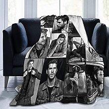 Jingliwang Blankets Liam Hemsworth Soft and
