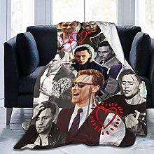 Jingliwang Blankets Tom Hiddleston Soft and