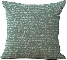 JINGMEIQQ Old Nautical Map Cushion Covers Set Of 4