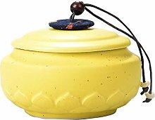 Jingyun Durable Traditional Tea Caddy Ceramics Tea