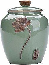 Jingyun Japanese Ceramics Tea Canister Traditional