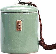 Jingyun Japanese Traditional Tea Caddy Ceramics