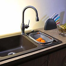 JINMENHUO Kitchen Sink Drainer Washing Mesh Basket