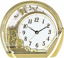 jinrun Mantel Clock Butterfly Clock Pendulum Table