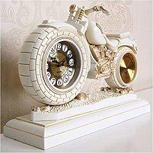 jinrun Mantel Clock Creative Desk Clock Pendulum