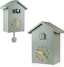 jinshang Cuckoo Clock Cuckoo Wall Clock, Natural